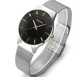 Klocka Readeel -Mesh strap/ Black-Gold
