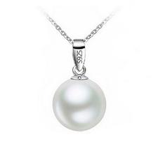 """Halsband """"Pearl"""" med kedja i  925 Sterling Silverplätering"""