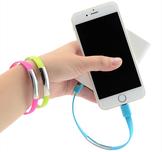 Armbands-Laddningskabel för iphone och ipad med lightningkontakt