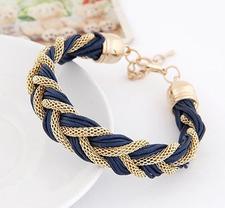 Armband Blå/Guld