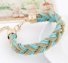 Armband Grön/Guld