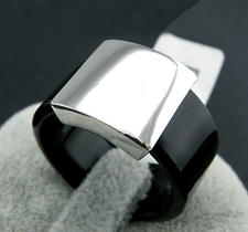 "Ring ""Black Steel"""