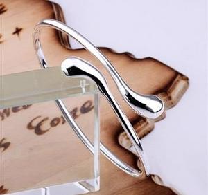"Armband ""Droppe"" i 925 Sterling Silverplätering"