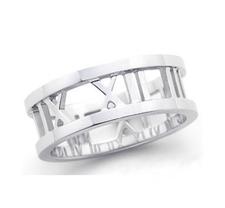 """Ring """"Rome"""" i 925 Sterling Silverplätering"""