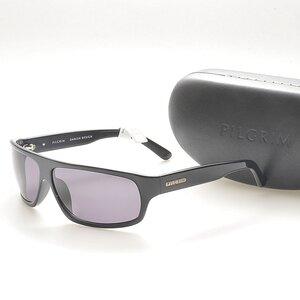 Pilgrim Sunglasses Svarta -Herr