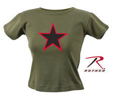 Dam T-shirt -Red Star-