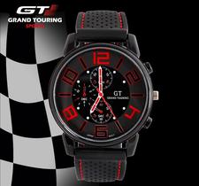 Klocka - Grand Touring GT -Röd