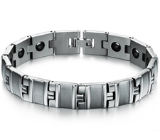 Magnetarmband i rostfritt stål