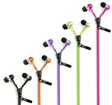 Zipper in ear-lurar