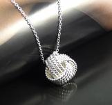 Halsband i 925 Sterling Silverplätering