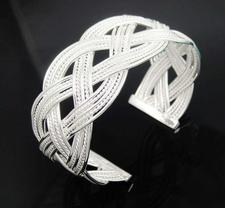 Armband i 925 Sterling Silverplätering