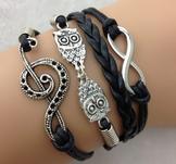 "Armband ""Owl"""