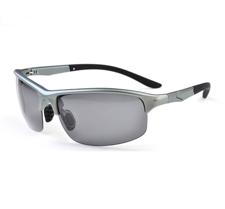 AOFLY Sunglasses -Gun frame & Gray lens
