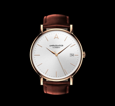 AMBASSADOR -Heritage 1959- Brown Leather Strap