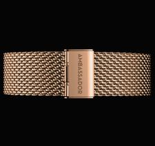 AMBASSADOR -Gold Mesh 20mm Strap