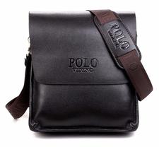 Messenger bag, 23 x 26 cm -Svart