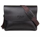 Messenger bag, 33 x 25 cm -Svart