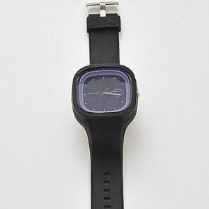 DMND - Klocka, Unisexmodell -Svart