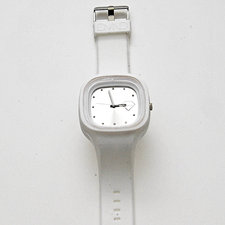 DMND - Klocka, Unisexmodell -Vit