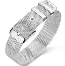 Armband i 925 Sterling Silverplätering -finns i tre olika bredder