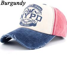 Keps NYPD -Bourgogne