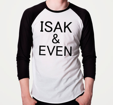 SKAM -Isak & Even -Baseboll T-shirt