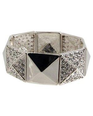 Bijoux By Us  - Armband Bling stud bracelet