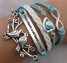 "Armband ""Will a way"""