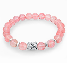"Armband ""Buddha"" -Rosa"