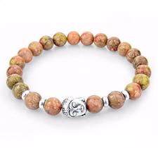 """Armband """"Buddha"""" -Ljusröd"""