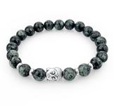 """Armband """"Buddha"""" -Svart"""