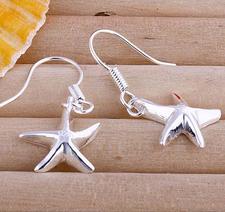 Örhängen Sjöstjärnor i 925 Sterling Silver