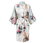 Kimono Kort Variant -Vit