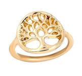 """Ring """"Tree of Life"""" i 18K Guldplätering"""