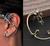 """Örhänge """"Dragon"""" i antik Silver- eller Bronsfärg"""