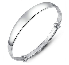 "Armband ""Smooth"" i 925 Sterling Sillverplätering"
