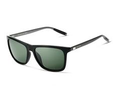 VEITHDIA Sunglasses -Black & Green Unisex