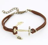 "Armband ""Golden Anchor"" -Khaki"