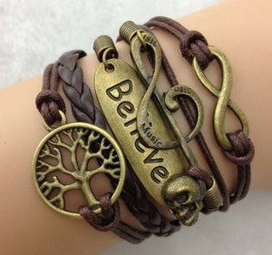 "Armband ""Believe"""