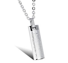 "Halsband ""Spanish Cross"" i Rostfritt stål -Silver"