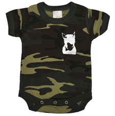 Rock the dog Camobabybody -Grön