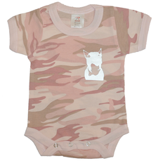 Rock the dog Camobabybody -Rosa