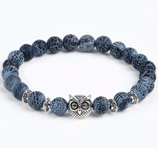 "Armband ""Buddha -Owl"""