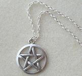 """Halsband """"Silver star"""" i Antik 925 Sterling Silverplätering"""