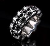 """Ring """"Skull""""  i Rostfritt stål"""
