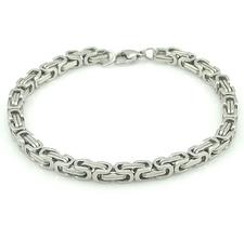Armband i rostfritt stål -Silver