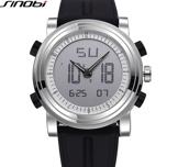 SINOBI -Sportklocka med Silikonarmband